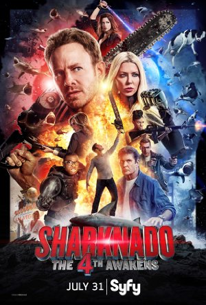 Sharknado 4: The 4th Awakens poster